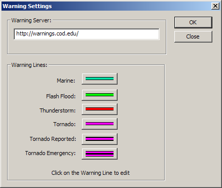 Warnings System